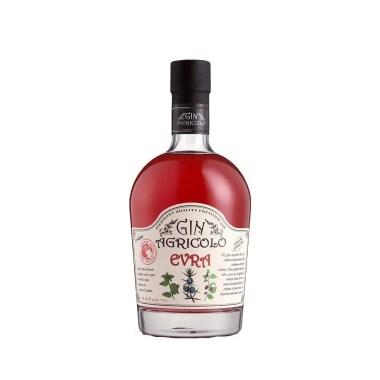 Billede af en flaske Gin Agricolo Evra