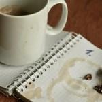 notebook, plan, dates