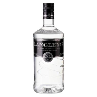 Billede af en flaske Langleys Gin No.8