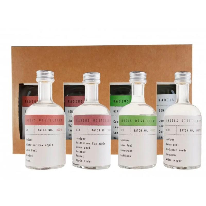 Billede af et Radius Distillery Smagesæt