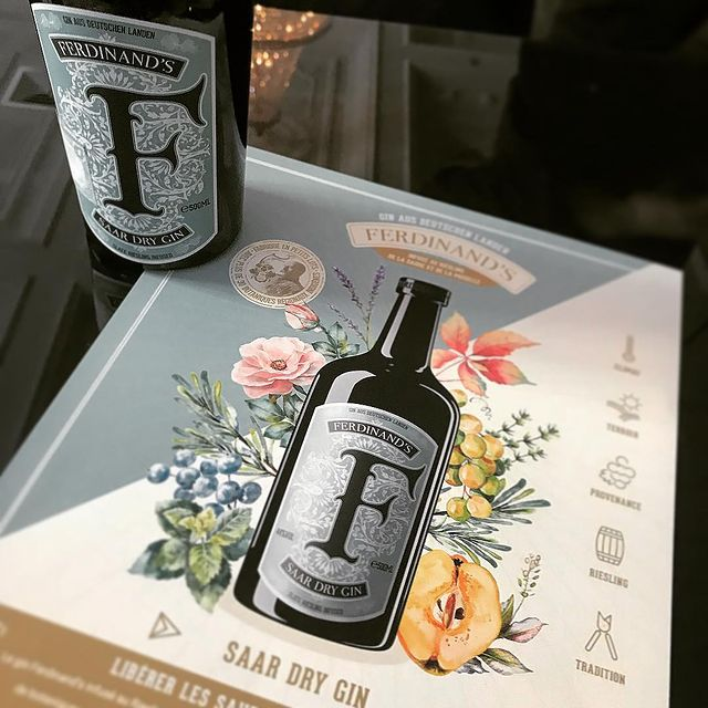 Ferdinands Saar Dry Gin Stemningsbillede