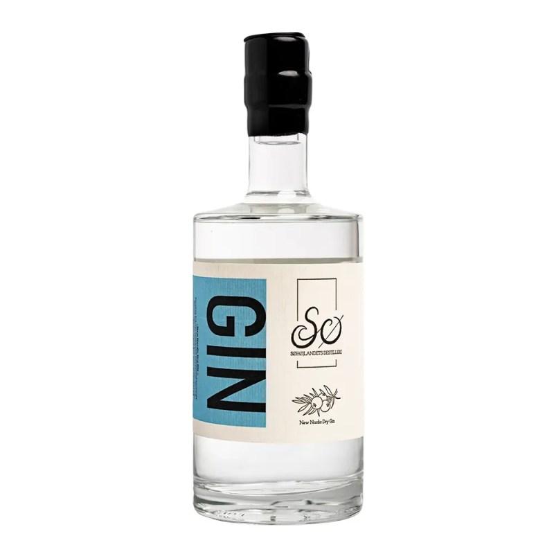 Billede af en flaske Ny Nordisk Gin fra Søhøjlandets Destilleri