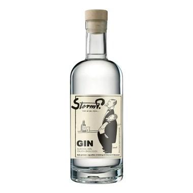 Billede af en flaske Storm P gin