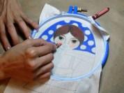 En el proceso de pintar a Alma
