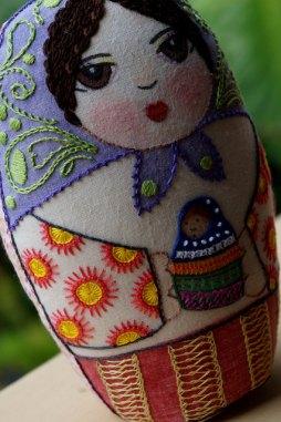 María y sus flores