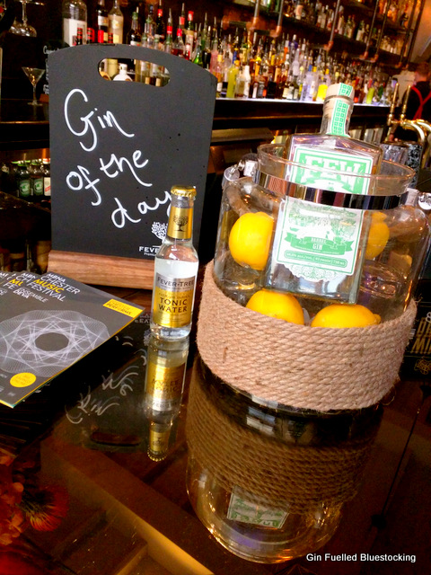 Forest Gin at Gin Rickey's