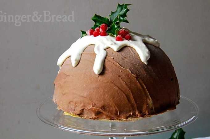 Christmas Cassata Ice Cream Bombe