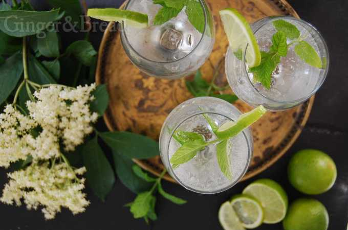 Hugo: elderflower+prosecco=cocktail
