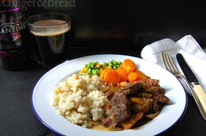 Steak and Stout with Spätzle: Schwenglish in 3 Courses