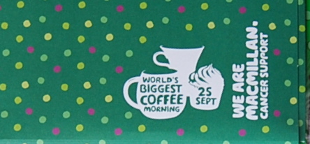 Macmillan Coffee Morning – Vote for your Cake!