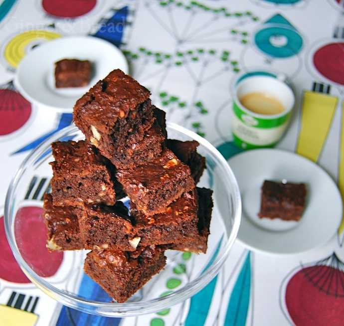 nutty brownies without added sugar