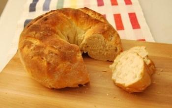 Bread open