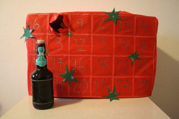 Advent beer calendar