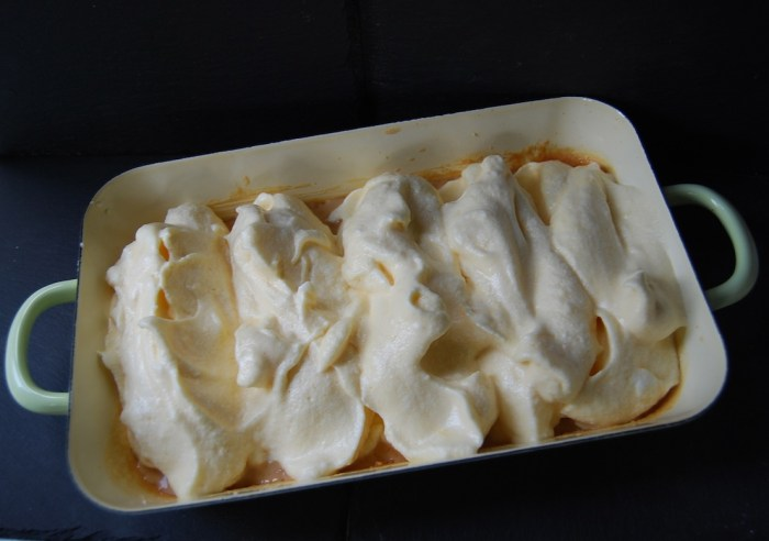 Salzburger Nockerln in dish
