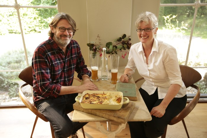 Nigel Slater and Steffi-1
