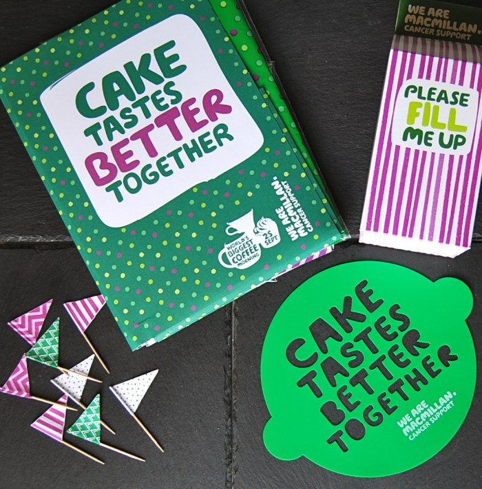 Macmillan Coffee Morning Pack