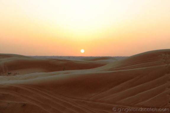 sunset-desert