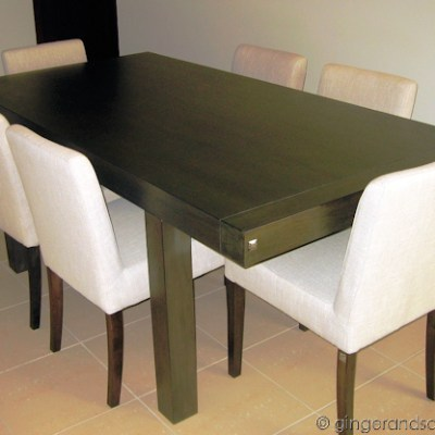 Finally a Dining Table!