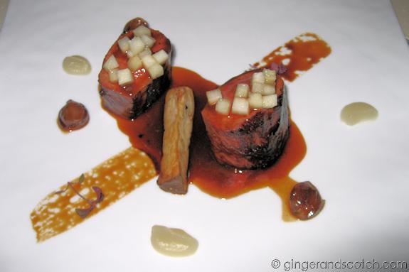 Lamb Loin @ Vu's Restaurant - Jumeirah Emirates Towers
