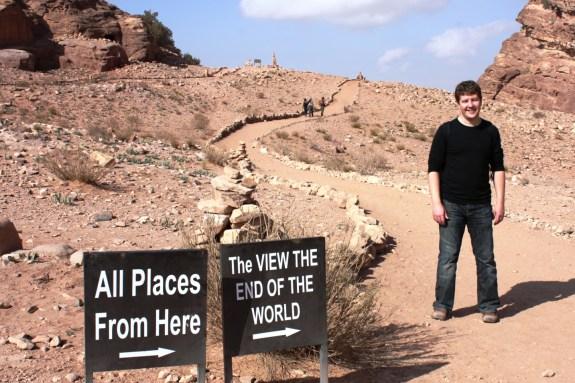 Scotch on top of Petra