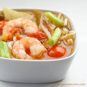 Mom's Vietnamese Sweet and Sour Soup