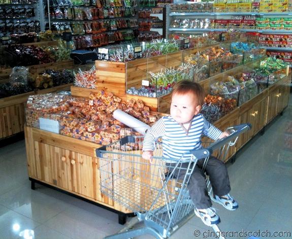 Chinese grocery store in Dubai International City