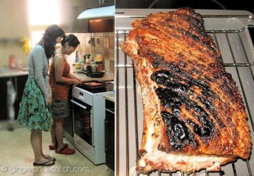 pork belly roasting party