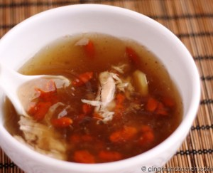 Chinese Whiskey Ginger Soup
