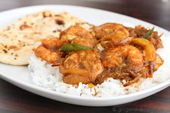 Emirati Shrimp Fried with Spices