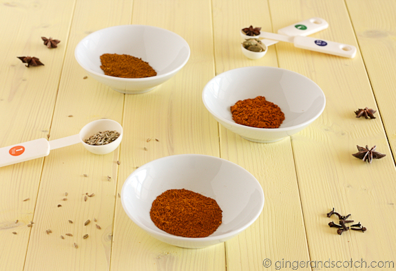 Homemade Vietnamese Curry Powder