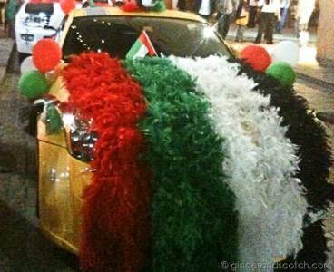 UAE National Day Decor