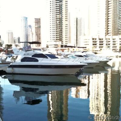 Running Along Dubai Marina