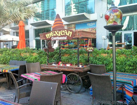 Dubai Marina Restaurants - Mexican Continental