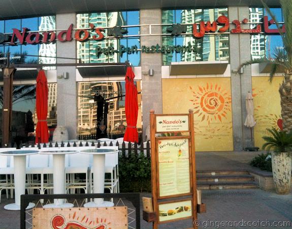 Dubai Marina Restaurants - Nando's