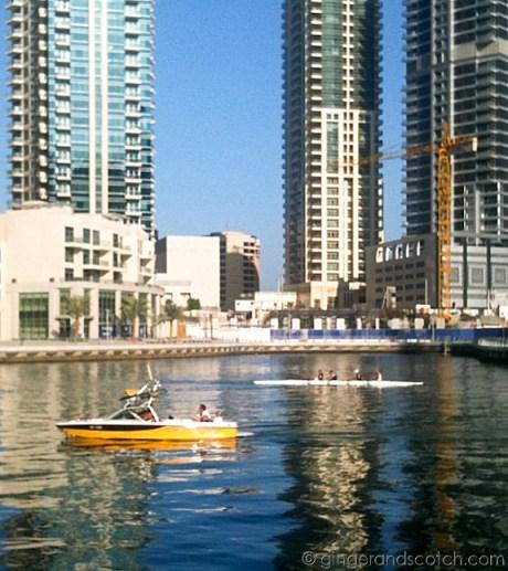 Dubai Marina Kayakers