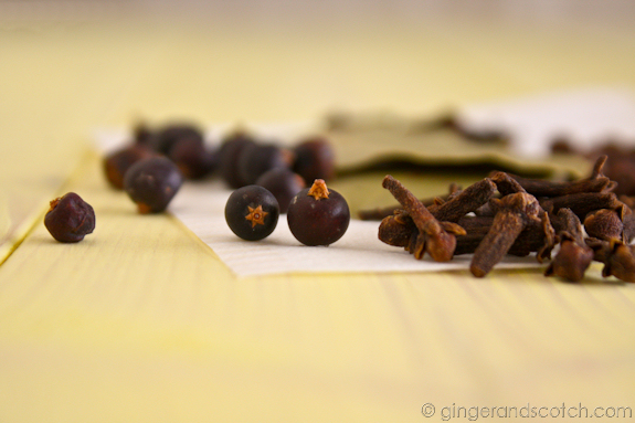 Choucroute Garnie spices