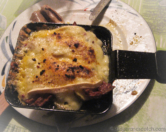 My first Swiss Raclette (2008)