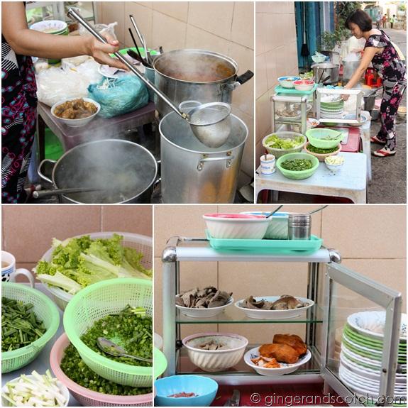Pho Vendor in Saigon