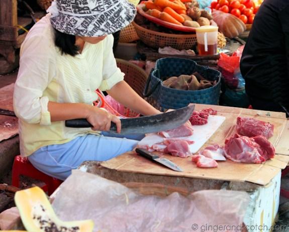 Hoi An Market - Meat