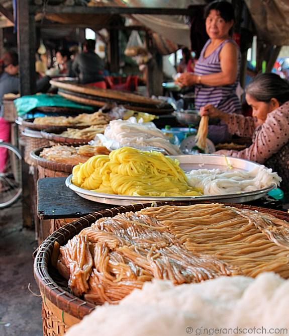 Hoi An Market - Noodles 4