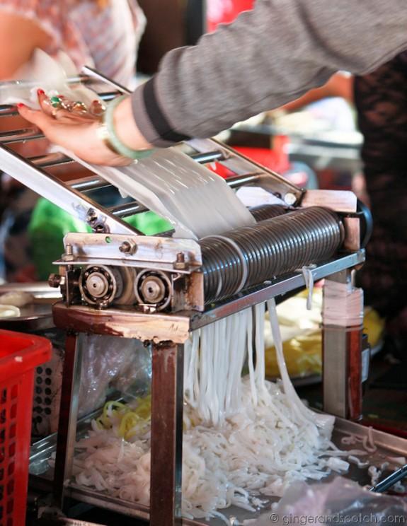 Hoi An Market - Noodles 3