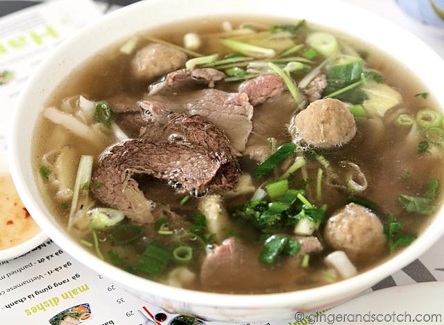 Pho Dac Biet - Hanoi special pho