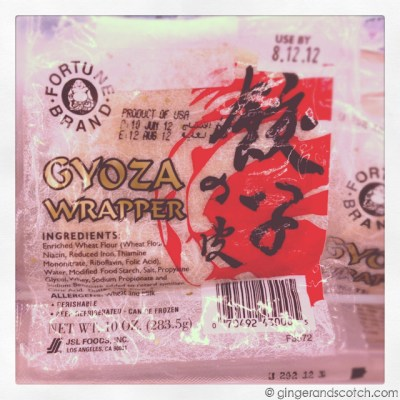 Wonton and Gyoza Wrapper – Spotted in Dubai