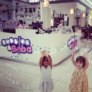 Bubbles and Bobal - Dubai Mall