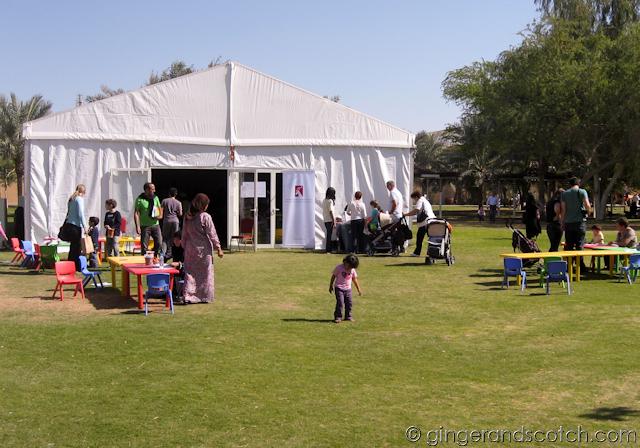 Al Ain Zoo - art tent