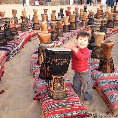 Full Moon Desert Drumming