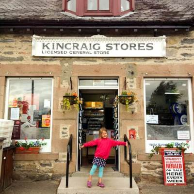 Kincraig in the Scottish Highlands