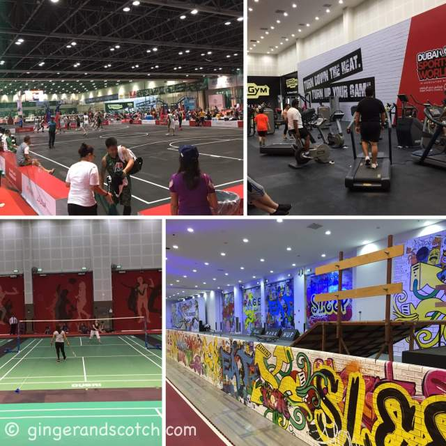 Dubai Sports World at Dubai World Trade Centre