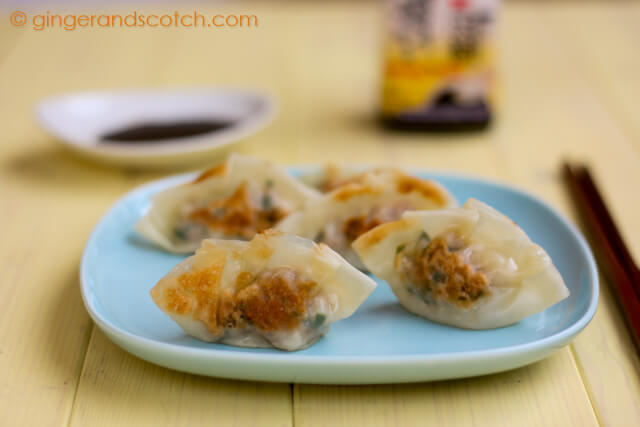 Potstickers with Pork and Garlic Chives