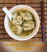 Chicken and Shrimp Wontons